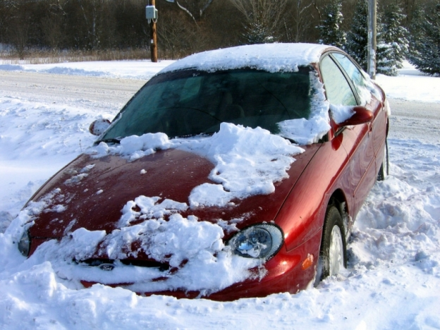 Winter In New England: Never Buy A Front Wheel Drive Car