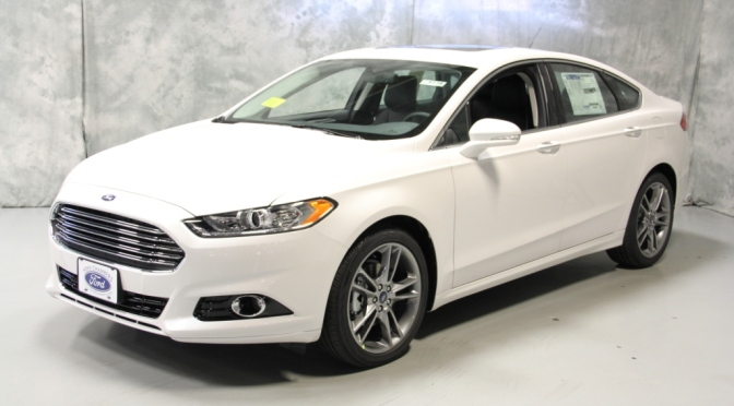 2014 Ford Fusion Titanium at Herb Chambers Ford