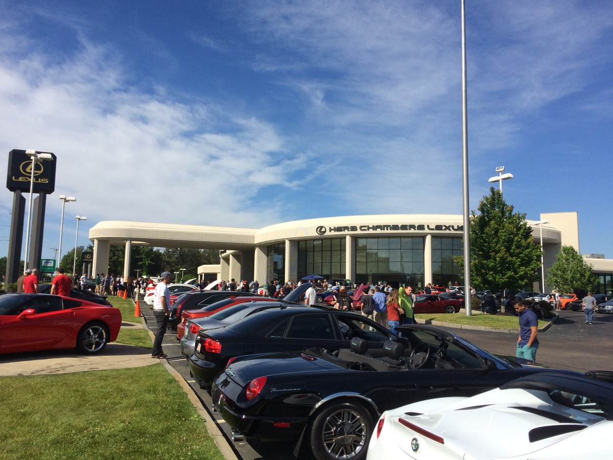 Cars & Coffee at Herb Chambers