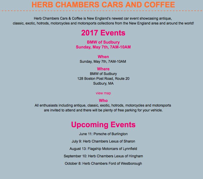 Herb Chambers C&C