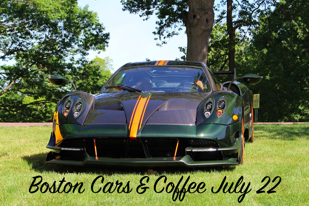 Boston Cars & Coffee July 22