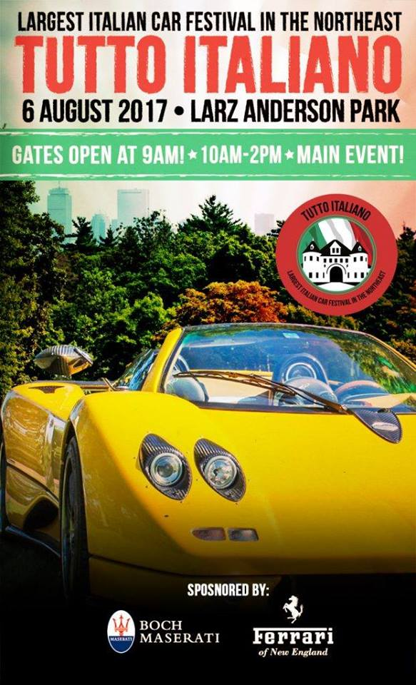 Upcoming Car Events and Cars & Coffees For August In Boston