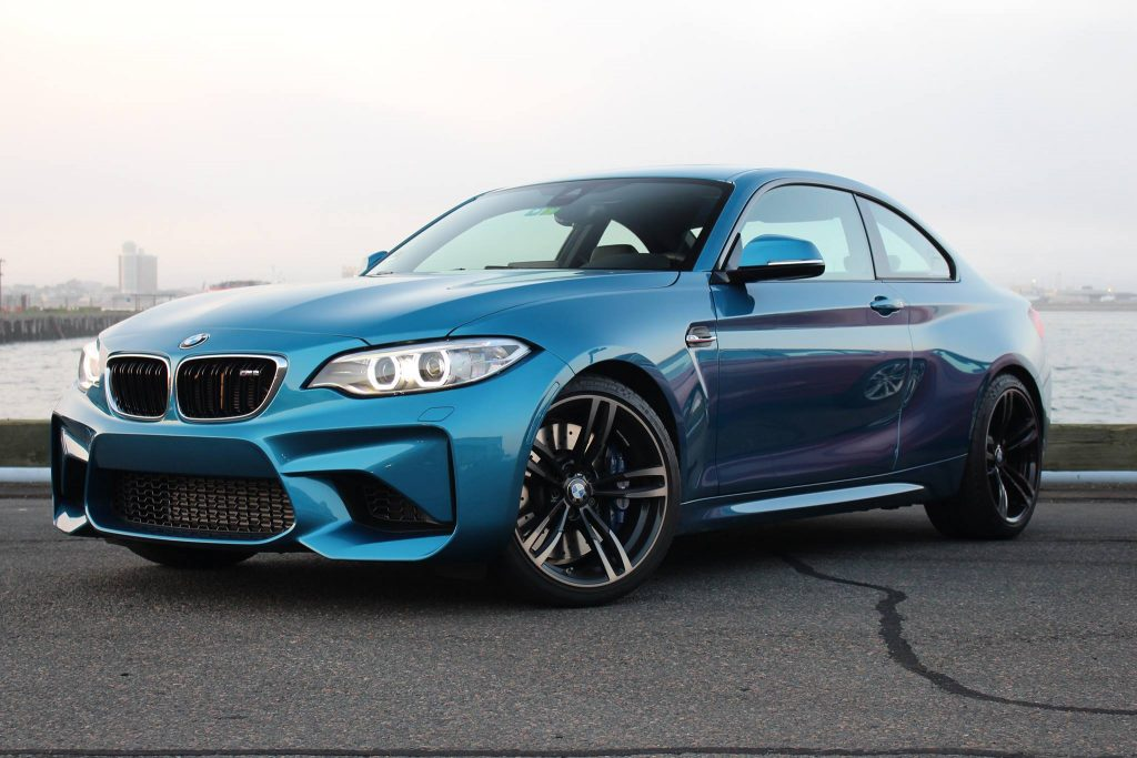 Long Beach Blue BMW M2