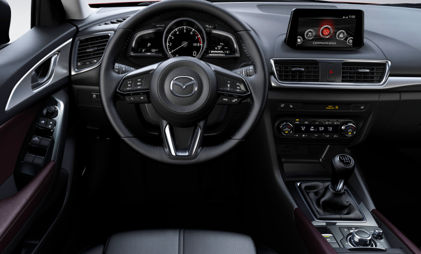 Mazda3 Hatchback Interior