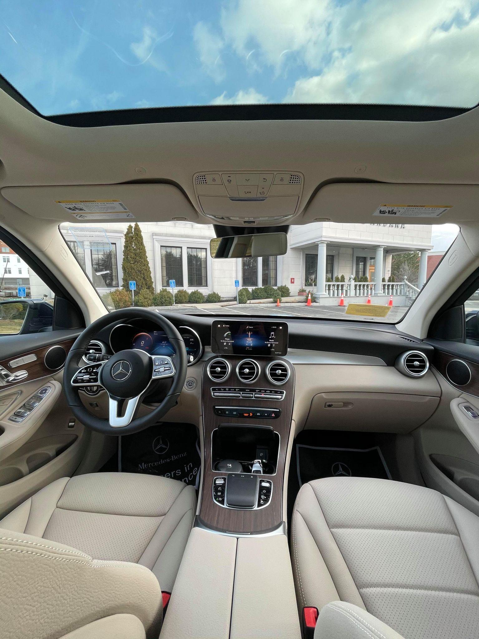 2021 Mercedes Benz GLC Interior